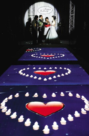 有哪些创新方式可以借用到婚礼策划中?