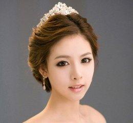 传统完美新娘:中式新娘发型