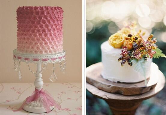 婚礼猫为你推荐个性小巧的婚礼蛋糕 婚礼猫