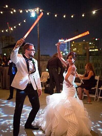 绝对的创意婚礼 星级大战婚礼秀