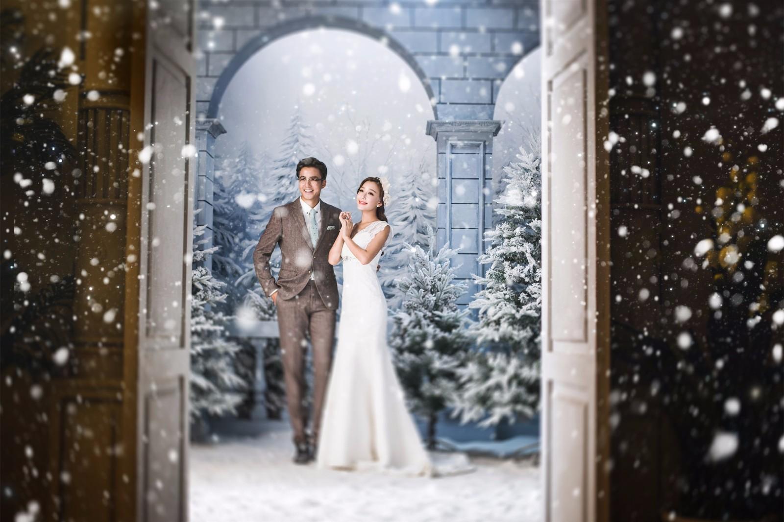 什么季节拍婚纱照最好,当然是夏季了